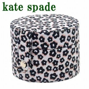 ケイトスペード KateSpade ジュエリーケース レディース ポーチ ケース 時計ケース トラベルポーチ 花柄 KS-196387|zeitakuya