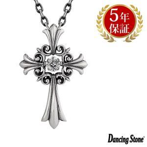 ダンシングストーン ネックレス クロスフォーニューヨーク ダンシング クロスフォー ペンダント フォーメン シルバー925 メンズ NMP-001|zeitakuya