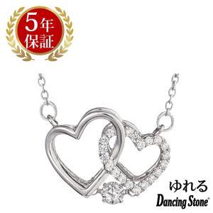 ダンシングストーン ネックレス クロスフォーニューヨーク ダンシング クロスフォー ペンダント レディース ハート NYP-563 ギフト|zeitakuya