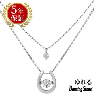 ダンシングストーン ネックレス クロスフォーニューヨーク ダンシング クロスフォー ペンダント レディース クリスマス ギフト NYP-653 Lucky|zeitakuya