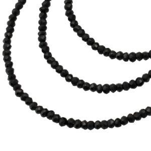 LARA Christie ララクリスティー ネックレス ペンダント シルバーアクセサリー シルバー メンズ ブラックスピネル  p5059 zeitakuya