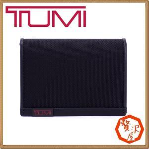 TUMI トゥミ メンズ 名刺入れ カードケース ブラック 黒 ALPHA アルファ TUMI-19256D