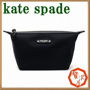 ケイトスペード バッグ KateSpade ポーチ コスメポーチ 化粧ポーチ WLRU3327-001|zeitakuya