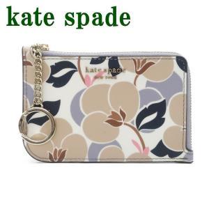 ケイトスペード KateSpade キーケース キーリング コインケース カードケース レディース 花柄 WLRU5417-276  ネコポス|zeitakuya