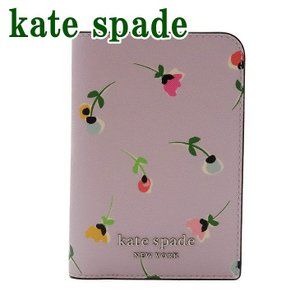 ケイトスペード Kate Spade レディース パスポートケース ロゴ 花柄 レザー WLRU5908-974  ネコポス|zeitakuya