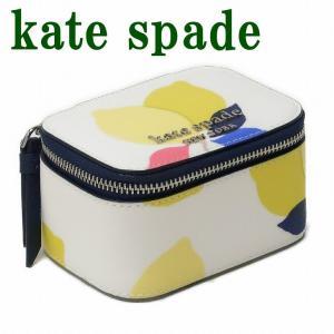 ケイトスペード KateSpade ジュエリーボックス レディース ポーチ ケース レザー WLRU6139-194|zeitakuya