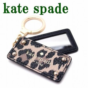 ケイトスペード KateSpade キーホルダー アクセサリー キーリング 手鏡 鏡 WORU0259-006 メール便|zeitakuya