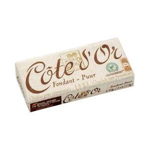 (代引・同梱不可)コートドール タブレット・ビターチョコレート 12個入り ギフト ベルギー 洋菓子