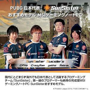 PUBG日本代表オススメモデル MSIゲーミングノート GF63-9SC-083JP 1.86Kg Win10 Core i5 GTX165|zembuzembu