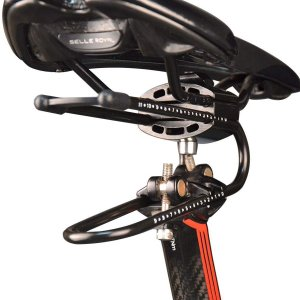 (ThinkTop)自転車サドルサスペンション装置 バイクリアショックアロイスプリングスチール MTBロードバイク ショックアブソーバ サイ|zembuzembu