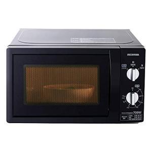 アイリスオーヤマ 電子レンジ 17L ターンテーブル 単機能 出力3段階 西日本/60Hz ブラック PMB-T176-6|zembuzembu