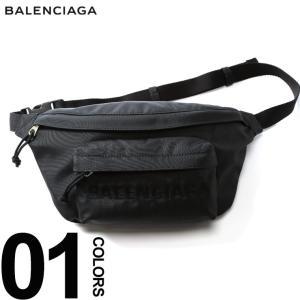 バレンシアガ BALENCIAGA ボディバッグ ロゴ 刺繍 WHEEL BELT PACK ブランド メンズ バッグ 鞄 ウエストポーチ ベルトパック BC5330099F91X|zen