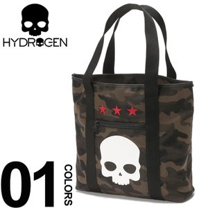 ハイドロゲン HYDROGEN トートバッグ 迷彩 スカル メンズ バッグ カモフラージュ HY243902|zen