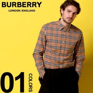 バーバリー BURBERRY シャツ 長袖 バーバリーチェック ノバチェック ストレッチ メンズ BB8004832|zen