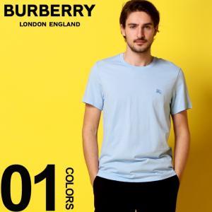 バーバリー BURBERRY Tシャツ 半袖 ロゴ 刺繍 クルーネック メンズ BB8009478|zen