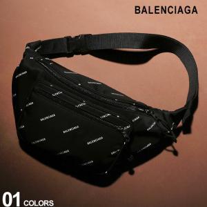バレンシアガ BALENCIAGA ボディバッグ ナイロン ロゴ 総柄 ベルトバッグ EXPLORER BELT PACK ブランド メンズ レディース バッグ ウエストポーチ BC4823899EL45 zen