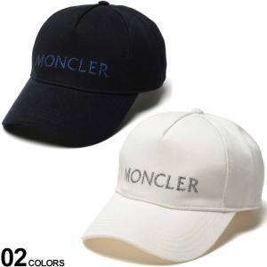 モンクレール レディース キャップ MONCLER ロゴ ラメ刺繍 帽子 ブランド ロゴ マジックテープ アジャスター コットン MCL3B71410V0006 zen