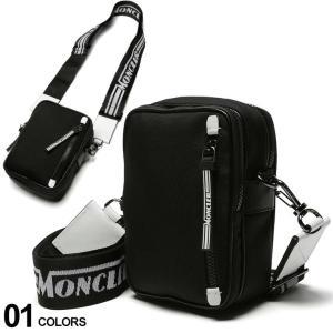 モンクレール バッグ MONCLER ロゴ ストラップ ミニ ショルダーバッグ DETOUR ブランド メンズ レディース 鞄 ミニ MC5L7000002SBA|zen