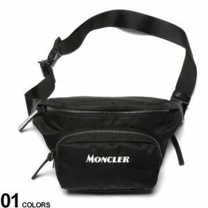 モンクレール バッグ MONCLER ナイロン ロゴ 刺繍 ベルトバッグ DURANCE ブランド メンズ レディース ウエストポーチ ボディバッグ MC5M7021002SB6|zen