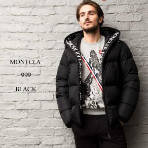 モンクレール MONCLER ダウンジャケット ナイロン パーカー フード ロゴ MONTCLA モンクラ ブランド メンズ アウター ダウン ブルゾン MCMONTCLAR9|zen