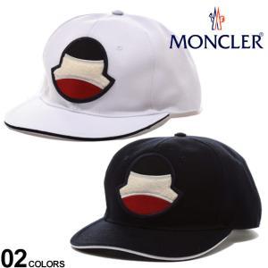 モンクレール キャップ MONCLER ロゴ トリコロール ワッペン ブランド 帽子 スナップバック メンズ レディース MC3B70000V0088 zen