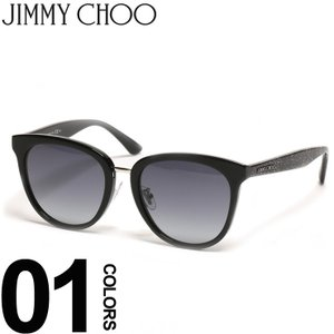 ジミーチュウ JIMMY CHOO サングラス ロゴ ラメフレーム メンズ レディース ブランド アイウェア JCCADAFNS89O|zen