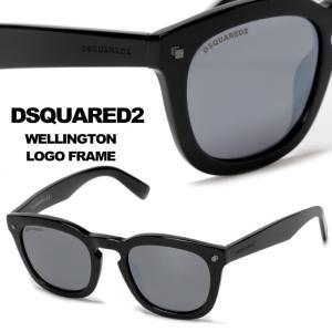 ディースクエアード DSQUARED2 サングラス ウェリントン ブランド メンズ D2019801C|zen