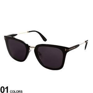 トムフォード メンズ サングラス TOMFORD Tライン サングラス ブランド 眼鏡 サングラス アイウェア アジアンフィット TF0726K01A|zen