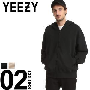 YEEZY イージー Season 4 パーカー スウェット フーディー フルジップ ブランド メンズ トップス カニエ ウエスト kanye west YZKW4U200 zen