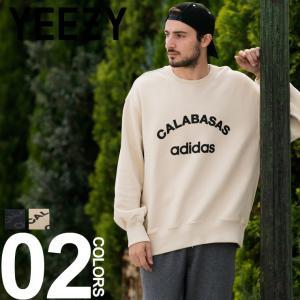 YEEZY イージー Adidas CALABASAS スウェット クルーネック トレーナー ブランド メンズ トップス カニエ ウエスト アディダス kanye west YZKW5U2134 zen