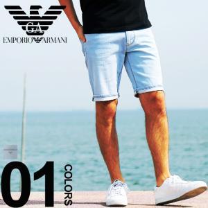 エンポリオ アルマーニ EMPORIO ARMANI ショートパンツ デニム ストレッチ メンズ EA3G1PA61D4DZ|zen