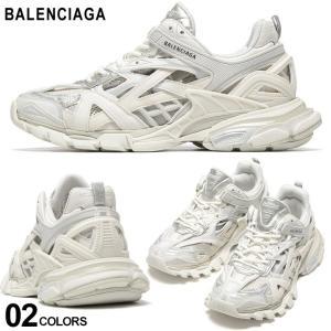 バレンシアガ メンズ スニーカー BALENCIAGA メッシュ ロゴ TRACK 2 ブランド シューズ 靴 トラックトレーナー 白スニーカー BC568614W2GN1 zen