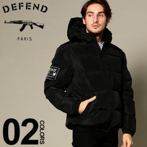 ディフェンド パリス DEFEND PARIS ダウンジャケット パーカー フード ロゴ ブルゾン ブランド メンズ アウター DPKALSOY|zen
