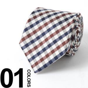 アクアスキュータム Aquascutum ネクタイ シルク ギンガムチェック ブランド メンズ 紳士 ビジネス 雑貨 AQSS5631|zen