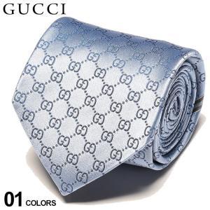 グッチ ネクタイ GUCCI シルク100% GGロゴ BLUE ブランド メンズ 紳士 タイ シルク ビジネス ギフト GC4565204968|zen