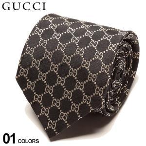 グッチ ネクタイ GUCCI シルク100% GGロゴ BLACK ブランド メンズ 紳士 タイ シルク ビジネス ギフト GC4565241079|zen