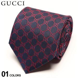 グッチ ネクタイ GUCCI シルク100% GGロゴ NAVY ブランド メンズ 紳士 タイ シルク ビジネス ギフト GC4565244174|zen