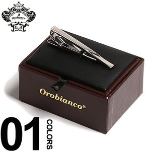 オロビアンコ Orobianco ネクタイピン タイバー ロゴ ブランド メンズ 紳士 ビジネス OBORT144|zen