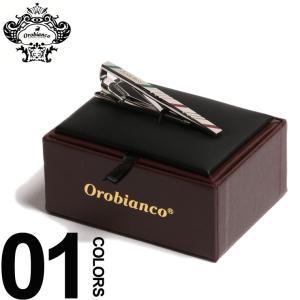 オロビアンコ Orobianco ネクタイピン タイバー ロゴ ブランド メンズ 紳士 ビジネス OBORT167A|zen