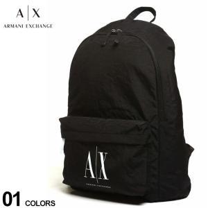 アルマーニエクスチェンジ メンズ バッグ ARMANI EXCHANGE ロゴ バックパック ブランド メンズ レディース リュック 鞄 AE952103|zen