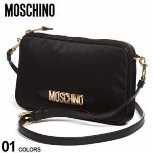 モスキーノ レディース バッグ MOSCHINO ロゴ ジップ ショルダーバッグ ブランド 鞄 ミニショルダー コンパクト MHL74188202|zen