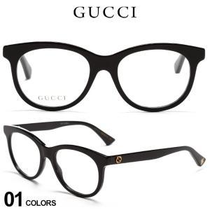 グッチ メンズ メガネ GUCCI 蜂 ロゴ セルフレーム クリアレンズ ボストン アイウェア ブランド 眼鏡 伊達メガネ GC0167O001|zen