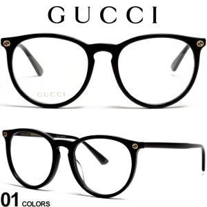 グッチ メガネフレーム GUCCI ロゴ ボストンフレーム ビー アイウェア ブランド メンズ レディース 眼鏡 伊達メガネ GC0027OA001|zen