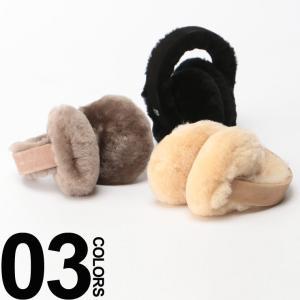 エミュー オーストラリア EMU Australia シープスキン ロゴプレート イヤーマフ 耳あて 【EMEARMUFF】 ブランド レディース 正規代理店 zen