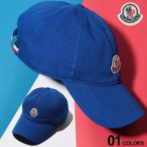 モンクレール MONCLER キャップ コットン ロゴ ワッペン トリコロール アジャスター ブランド メンズ レディース 帽子 MC00209000209C zen