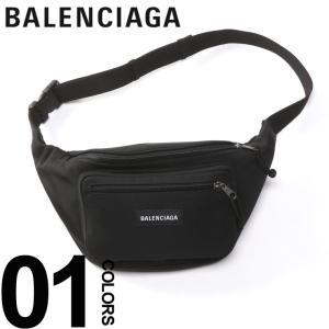 バレンシアガ BALENCIAGA バッグ ナイロン ロゴ ウエストバッグ EXPLORER BELT PACK ブランド レディース メンズ 鞄 ポーチ ボディバッグ BC4823899TY45|zen