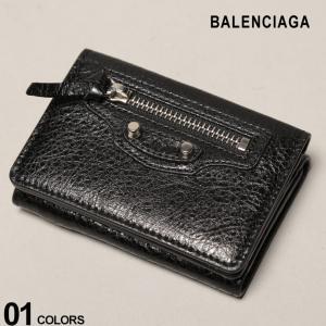バレンシアガ BALENCIAGA 財布 レザー 三つ折り ミニウォレット CLAS MINI WALLET ブランド レディース BCL477455D940N zen