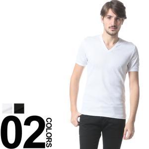 ドルチェ&ガッバーナ DOLCE&GABBANA ドルガバ リブ Tシャツ Vネック 半袖 DGN8B26JFUGF5 メンズ ブランド|zen