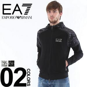 エンポリオ アルマーニ EMPORIO ARMANI EA7 パーカー スウェット フルジップ ラグラン切替 メッシュ加工 メンズ ブランド EA3ZPM97PJ60Z zen