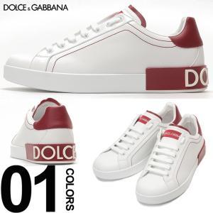 ドルチェ&ガッバーナ DOLCE&GABBANA ドルガバ スニーカー レザー ヒールロゴ ローカット ブランド メンズ 靴 シューズ DGCS1587AH526 zen